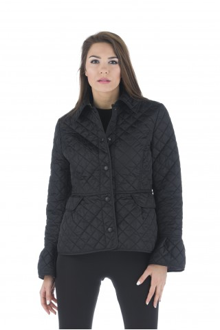 "Ellegant ""Burberry"" style padded jacket with peplum"