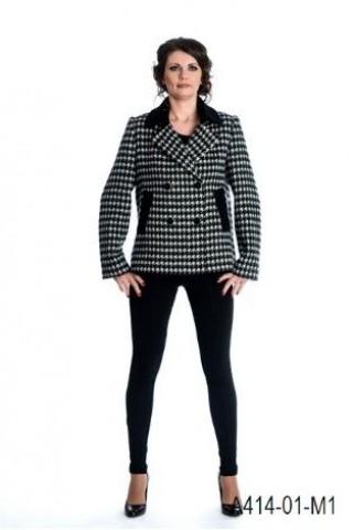 Short wool coat