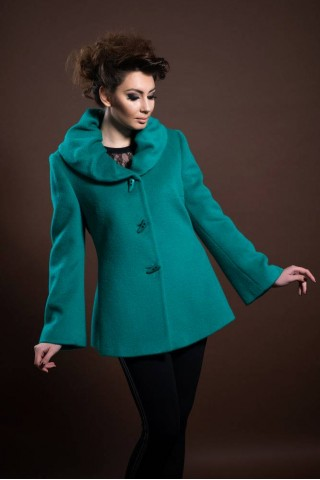 Short mohair coat